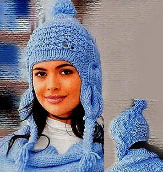 Ищите модную зимнюю женскую шапку на зиму 2015-2016? . Фото вязаных головных уборов обязательно сделают ваш выбор