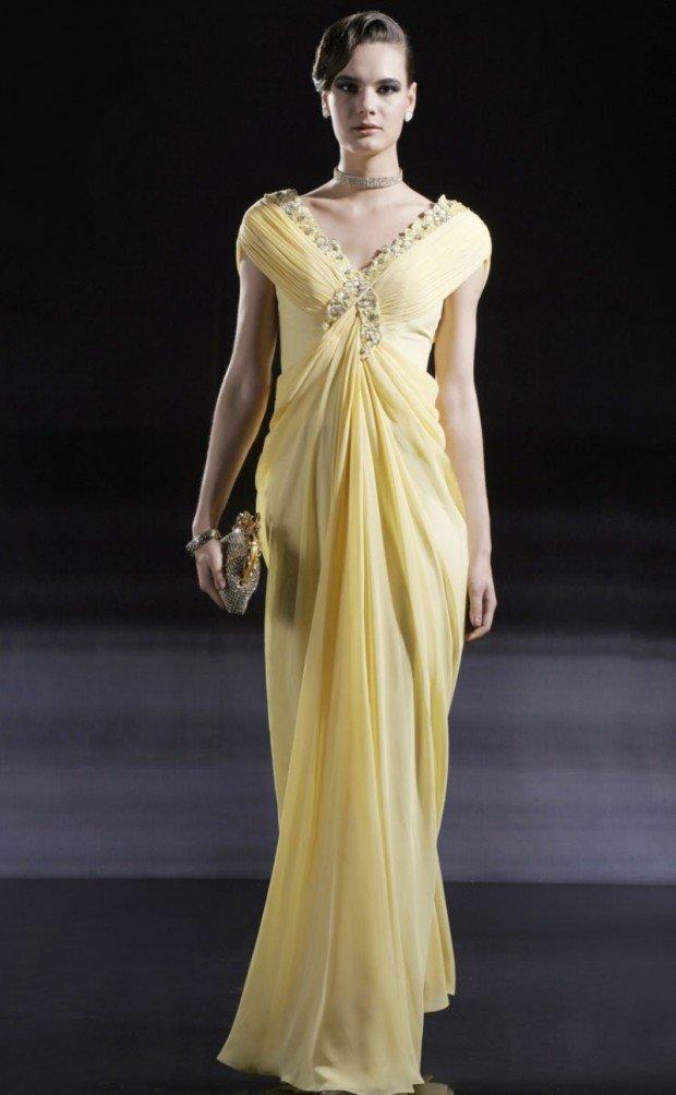 Платья с широкой юбкой длинное