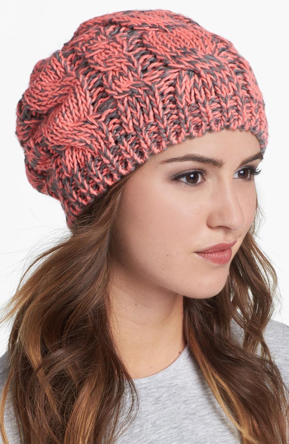 Вязание шапок для круглых лиц